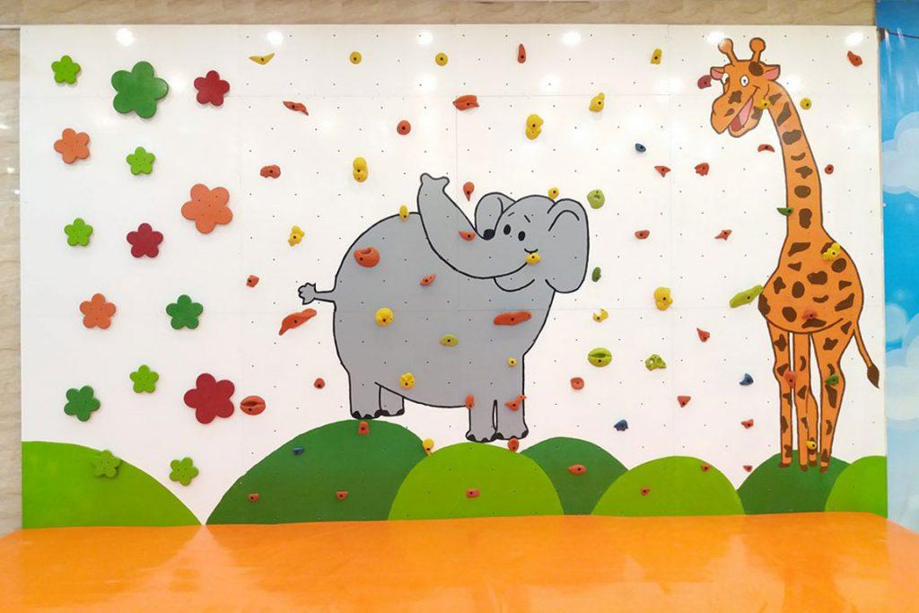 دیواره صخره نوردی کودکان، قم