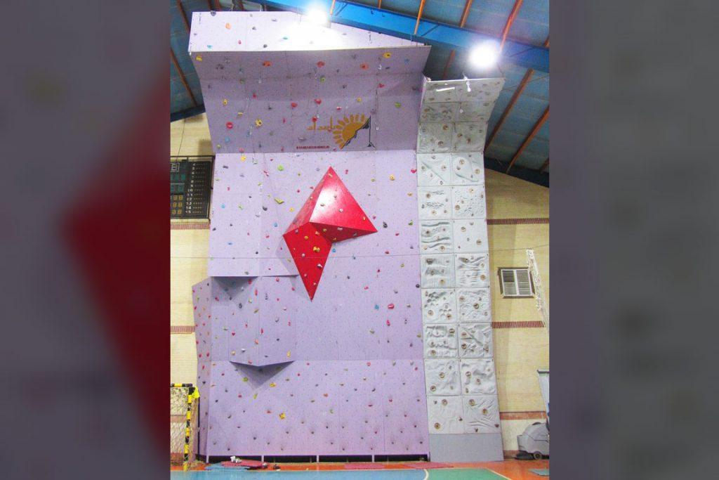 دیواره سنگنوردی کاشان، اداره ورزش و جوانان 1