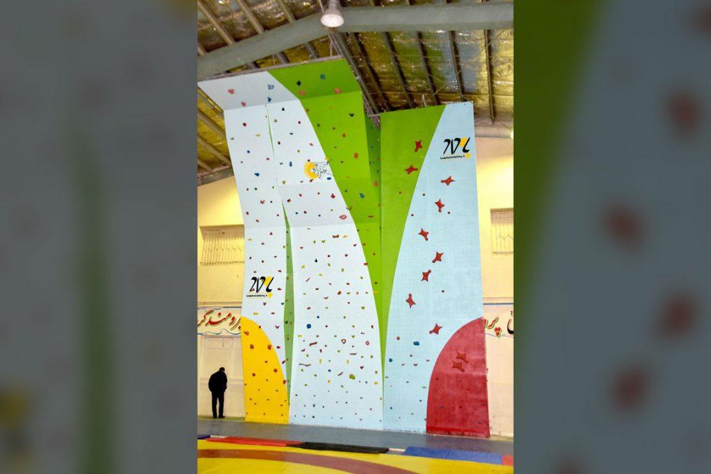 دیواره سنگنوردی خمین، اداره ورزش و جوانان 4
