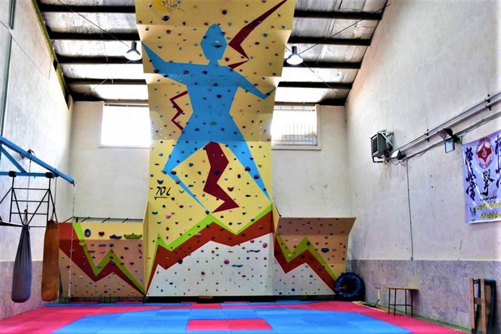 دیواره سنگنوردی محلات، اداره ورزش و جوانان 2