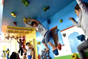 دیواره صخره نوردی کودکان