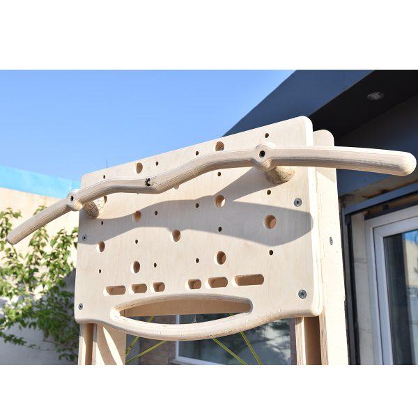 میله بارفیکس چوبی