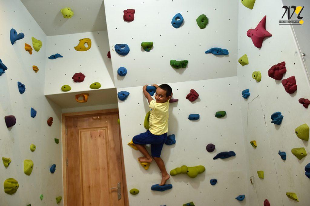دیواره سنگنوردی خانگی
