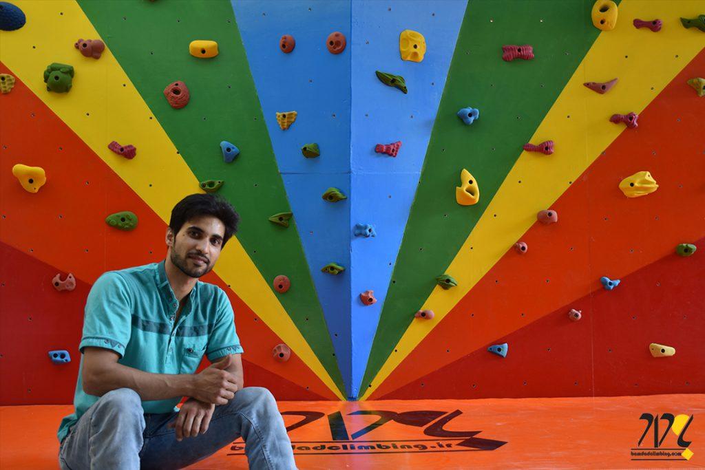 دیواره سنگنوردی دبستان آل یاسین اصفهان